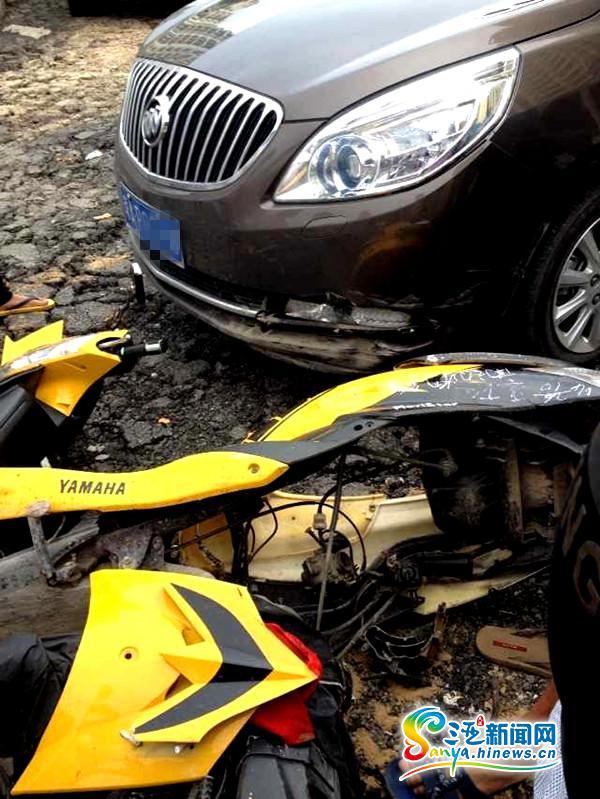 三亚:与别克车相撞摩托车主身亡家属盼司机出面协调
