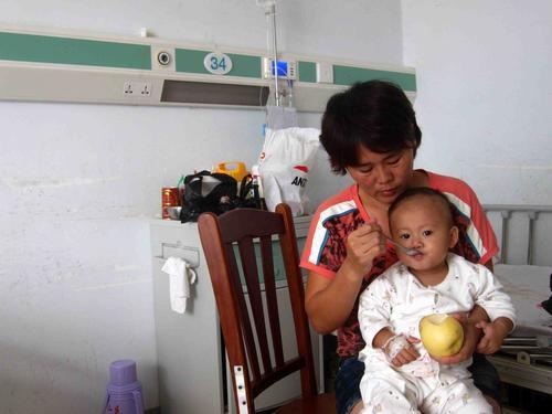 孩子一岁半肺部感染