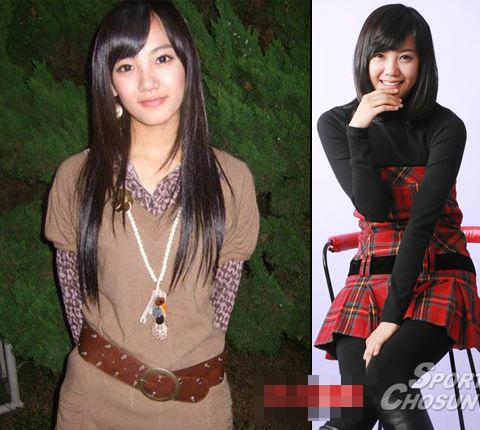 韩国美女明星素颜生活照