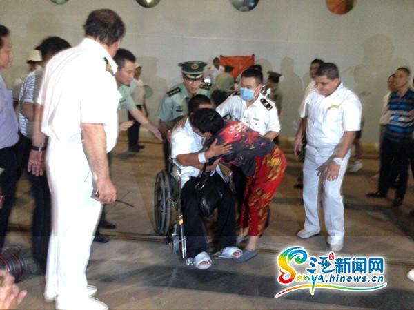 深圳渔船文昌海域沉没施救邮轮船长:生命高于一切