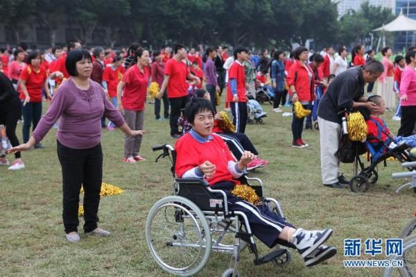 运动,帮助残疾儿童建立自信