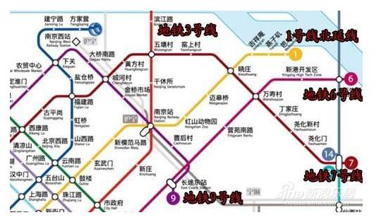 南京地铁7号线要动工了 7号地铁途径站点路线图一览图片