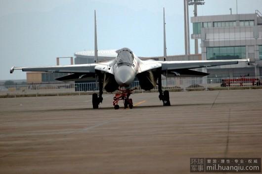 俄罗斯苏35矢量发动机高清细节