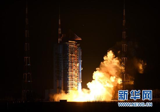遥感卫星23号发射成功