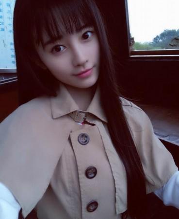 中国第一美女鞠婧t系高中生