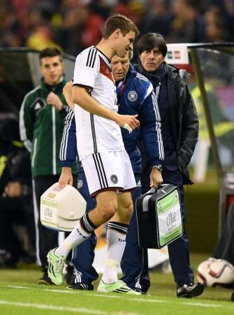 热身-穆勒受伤克罗斯89分钟绝杀 德国1-0西班牙