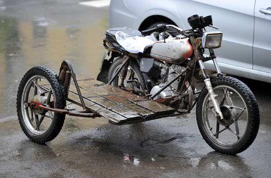 大开眼界的牛人摩托车