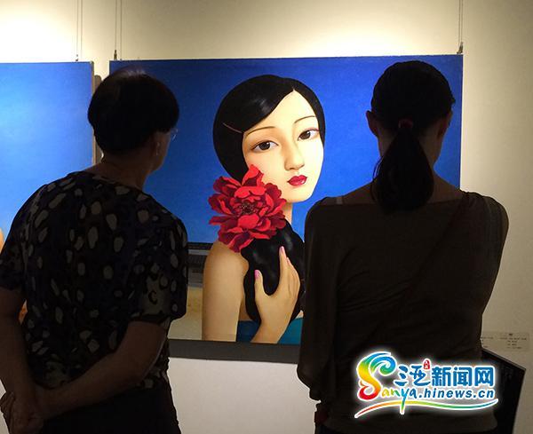 中国新当代艺术展三亚开展36位艺术家150幅作品亮相