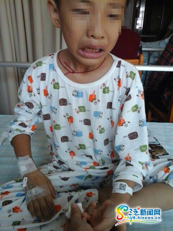 三亚6岁男童突患恶性肿瘤高昂医疗费急盼救助