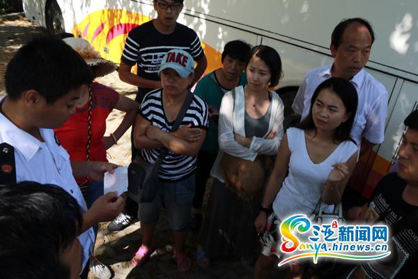 48人海南旅游被强加景点购物点黑车被扣导游溜走