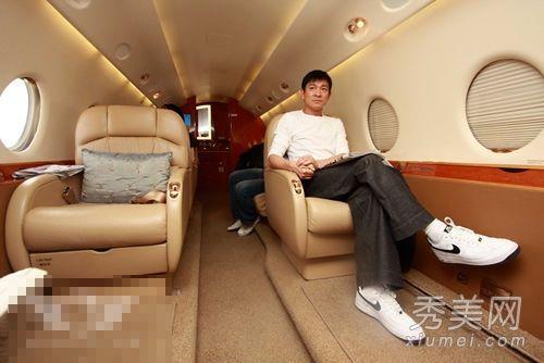 刘涛林青霞范冰冰 曝光10大明星奢华私人飞机