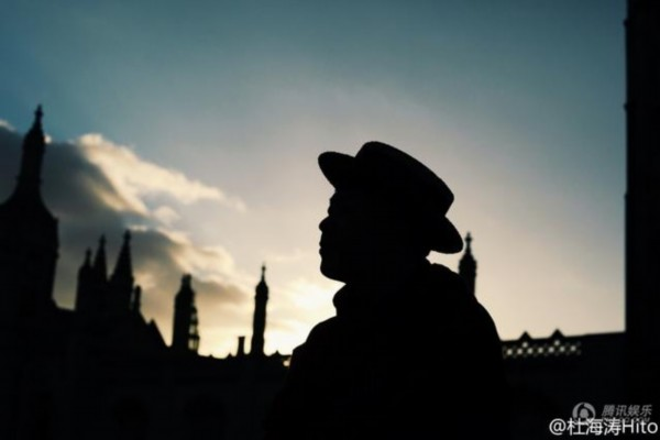 深夜天空-杜海涛远赴剑桥 原来他的胖身体里有颗文艺心图片