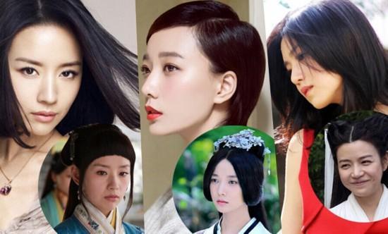 最惊吓女星古装造型:陈妍希大饼脸