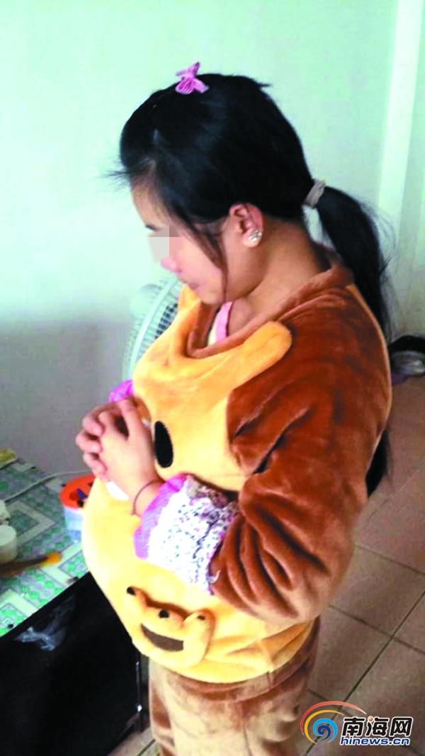 海口:女子不堪家暴与丈夫工友同居怀孕后男友却被拘留