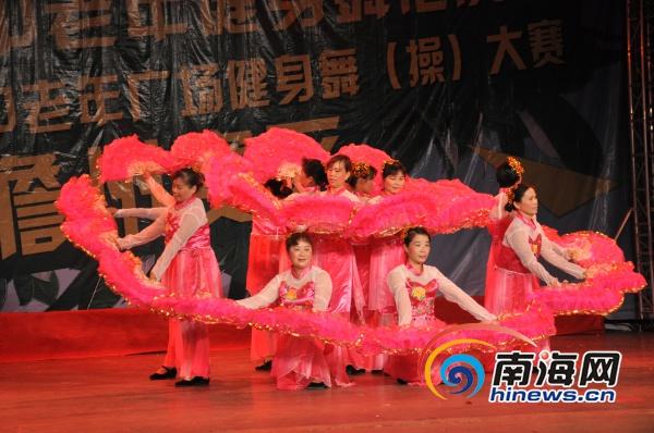 海南第五届健身操大赛儋州赛区复赛4队进决赛