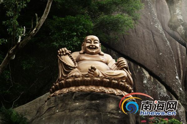 万宁东山岭弥勒菩萨圣像落成祈福典礼当天免费游览