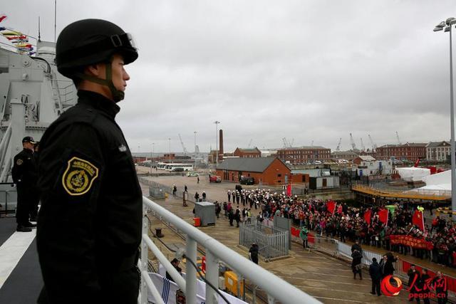 中国军舰时隔7年再访英 三舰进港英媒感叹