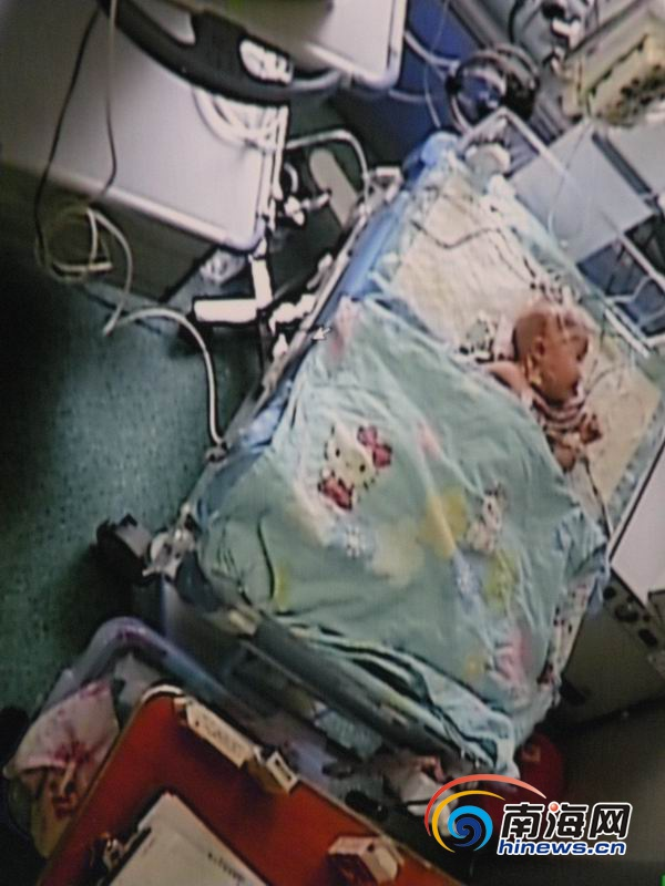 临高婴儿患重度肺炎家庭无法承担巨额治疗费求助社会