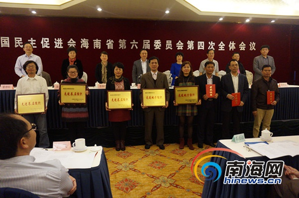 民进海南省委2019年提案33件立案率达100%