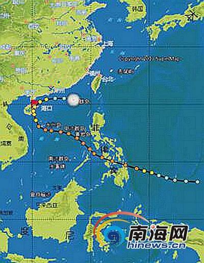海南省气象局盘点1949年以来海南台风历史之最