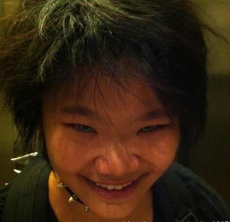 毕福剑19岁女儿近照曝光 杀马特发型抢镜