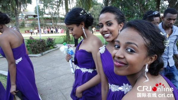 迷人的埃塞俄比亚美女