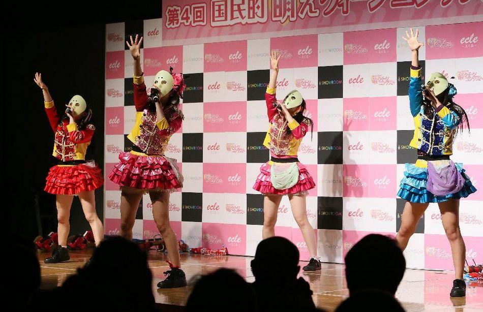 """日本""""萌女王赛""""结果出炉 龅牙妹也能当冠军?(图)"""