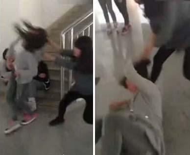 女学生视频种子_【视频】重庆女学生打架揪发摔地用脚踹十分残暴 网友