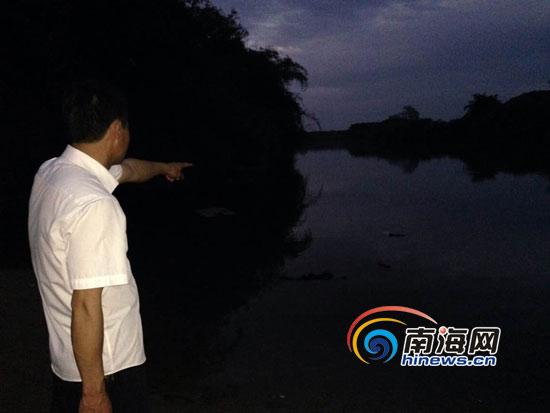 大年初四定安2名小学生不幸溺亡村民曾奋力搜救(图)
