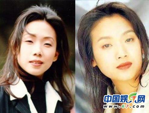 图揭娱乐圈撞脸明星 林心如蔡依林疑似亲姐妹