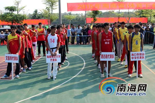 海南排球精英邀请赛澄迈开赛 4支球队展开角逐