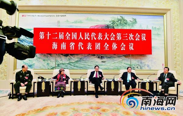 海南代表团举行开放团组活动72家中外媒体关注
