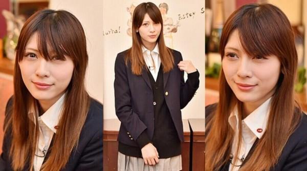 日本最可爱女高中生选美冠军出炉