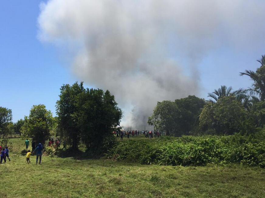 兰卡威航展2架飞机相撞坠毁