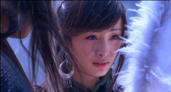 杨幂,她16岁高二的时候饰演的郭襄.-纯真一尘不染 明星惊为天人的 图片