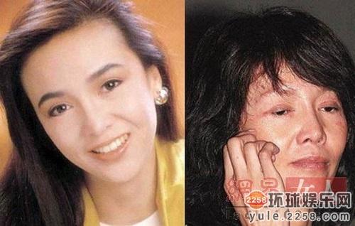 王祖贤素颜现身搭地铁暴丑