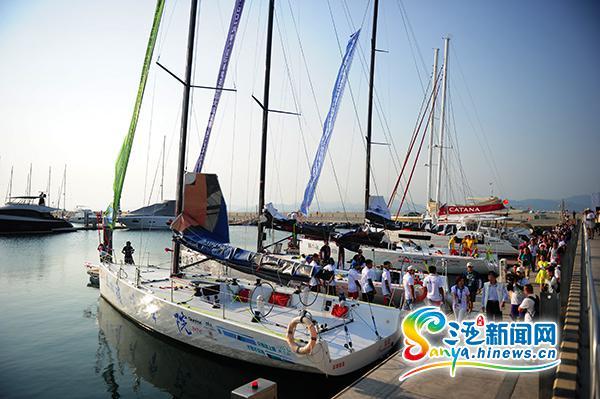环岛国际大帆船赛21日三亚开赛将经停海口等城市