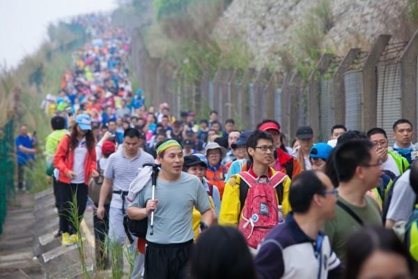 红牛全程助力2015年深圳百公里活动