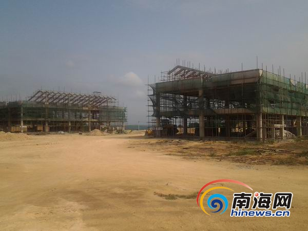 海南西部殯儀中心已完成工程總量的45%有望明年啟用