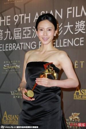 亚洲电影大奖廖凡称帝 大热《推拿》获最佳电影