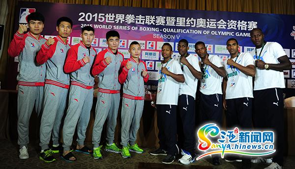 2019WSB世界拳击联赛:中国龙队将三亚迎战古巴