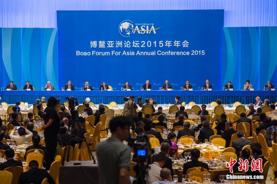 <b>世界经济展望2019:对话博鳌亚洲论坛理事晚餐会举行</b>