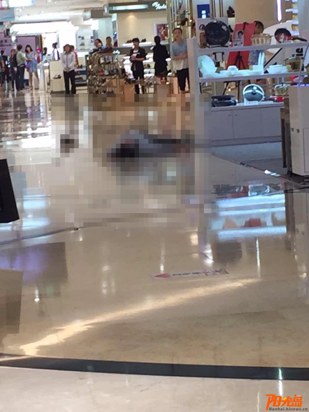 海口一青年男子望海国际商场内跳楼身亡生前疑患抑郁症