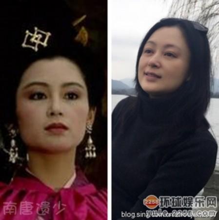 """94版《三国演义》""""貂蝉""""—陈红-岁月留痕 老版四大名著电视剧众美"""