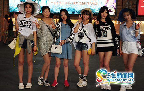 韩国美女组合AOA宣传三亚旅游推荐民众到海南度假_新闻资讯_海南
