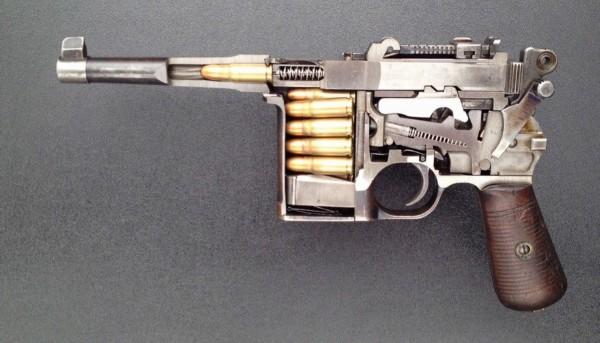 M16自动步枪-难得一见的武器 解剖 画面