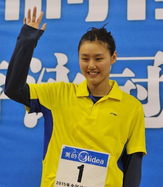 刘湘年仅18岁,素颜清纯,笑容甜美,360度无死角,堪称中国游泳队新女神.