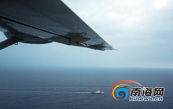海南海事开展首次西沙水域海空联合巡航为期3天