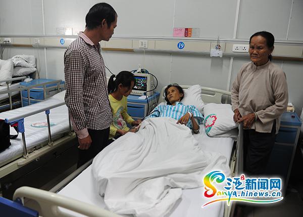乐东妇女患风湿性心脏病家中负债急需10万元救命钱