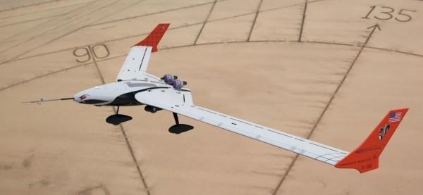美军未来飞行器x-56a测试飞行 采用柔性机翼